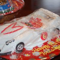Mark 5 Cake This is a Mark 5 cake = speed racer. I hope I spelled this right :) All fondant.