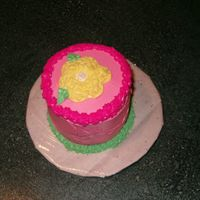 Smash Cake I have only made a couple cakes for my kids only. Don't be too harsh!