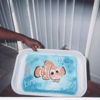 Nemo   sons 2nd bday cake