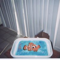 Nemo   my sons 2nd bday cake it was stwaberry w/wbc