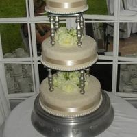 Separated Three Tier With Lace Detail