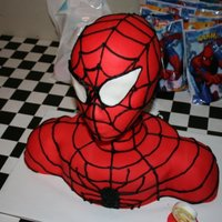 Spiderman  I had wanted to make a Spiderman cake for my son for a long time. I was so excited to find the instructions before his 6th birthday came...