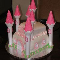 Castle Cake Castle Cake made for my niece's 8th Birthday. She had a princess party.