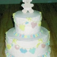 Baby Clothesline I finally got a copy of the picture of the cake I made for my neighbor's shower a few years ago. I'm pretty sure it was from a...