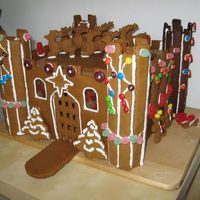 Gingerbread Castle For some reason this was really hard. It took way too much time. I couldn't figure it out but it lead in part to a nervous break down...
