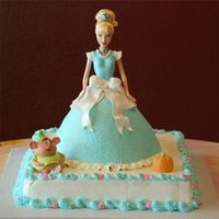 Cinderella This is my second cinderella cake. I made this one for my niece.