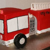 Fire Truck This one was hard. Could never get the right red on the buttercream. I ended up getting it from a cake shop. Then the back fell over when I...