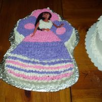 Barbie Cake (Nia's 8Th Birthday Cake)