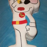 Danger Mouse Danger Mouse Birthday Cake (first pic I've uploaded)