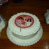 Nia's 8Th Brithday (Barbie Cake)