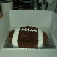 Super Bowl 2006   Plain yellow cake with buttercream