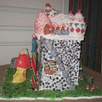 Gingerbread Castle There used to be an amusement park in NJ called the Gingerbread Castle. It is now crumbling...Here is my version of how it used to be. I...