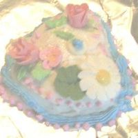 Emily's Cake My 8 year old niece's first decorating experience.