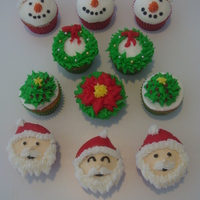 Christmas Cupcakes Christmas cupcakes, so much fun to do!