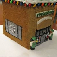 Starbucks Gingerbread House We frequent our local Starbucks and really love the staff there. Last Christmas I decided to try making a gingerbread house for the first...