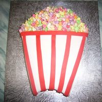 Popcorn Cake Seeing someone else's popcorn cake, I thought I would post mine. This is from the Women's Weekly Cake Cookbook for Children in...