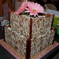 Choc On Choc On Choc Weddingcake