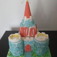 Fairytale Whimsical Castle whimsical castle cake!