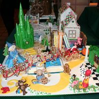 Storybook Road Gingerbread contest entry.Storybook Road A collection of children's favorite storybook characters.