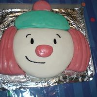 Jojo's Circus Cake This was a cake I made with Marshmellow fondant and a pound cake mix for my son's 2nd birthday party.