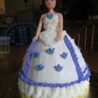 Dolly Varden   This is my first attempt at a Dolly Vardon cake. I enjoyed making this one and my daughter absolutely loved it!