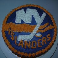 New York Islanders Hockey  I was asked to make a birthday cake and retirement cake for a combo party for family. It was a challenge for me but I was excited about...