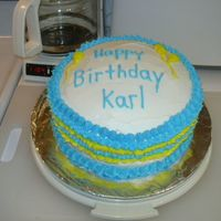 Birthday   Just a simple and quick birthday cake