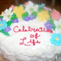 Celebration Of Life I made this cake in celebration of my friend's birthday and to God's faithfulness to her. The cake is Rich Yellow Cake (CC) and...