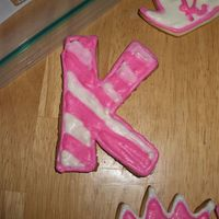 K For Kasandra nfsc with alices cookie icing