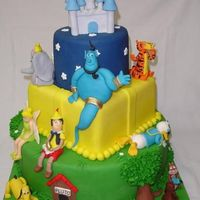 Disney Cake (Back Side)