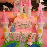 Disney Princess Castle Birthday Cake My daughter wanted a princess castle for her birthday. Got some great ideas from the gallery. Thanks