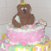 Bear And Blocks I made this cake for my daughter's 1st birthday from a combination of different cakes I've seen on this site.