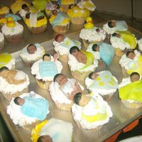 Shhh Baby Sower cupcakes