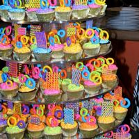 Close Up Of Cupcake Tower   Per your request, here's a closer view of the cupcakes.Thanks everyone for viewing.