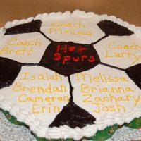 Soccer08.jpg Cupcake Cake for my sons soccer team