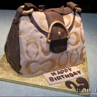 Coach Purse I still need alot of practice on these purse cakes, fondant was lumpy and bumpy. TFL