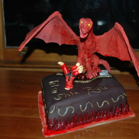 Dragon Cake I made this cake for my son when he earned his black belt. The dragon has LED lights for eyes and the ability for dry ice to be used for...