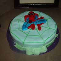 Kielan's Spiderman Birthday Cake This is the first cake I have made in years. The last cake I made was in grade 8, so I was a little rusty. I am sure it took me allot...