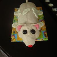 Hampster Children's hampster birthday cake.