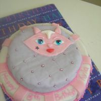 Bratz Cat Cake I made this cake for my daughters 8th birthday. It was a hit, all of the kids loved it.