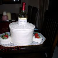 Wine Ice Bucket This was my first attempt at an ice bucket. Much better than the 2nd attempt! Thanks to all for ideas from the gallery. MMF over 4 layers....