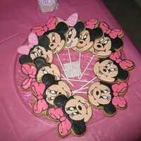 Minnie Mouse Cookies   used NFSC and Antonia74 RI - The best recipes I have used!!