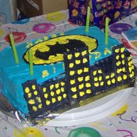Batman   quickly done batman cake.