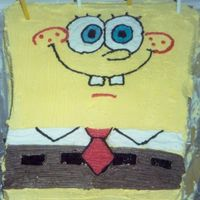 Spongebob Squarepants This was my first character cake, I didn't know all the little secrets then that I do now, but that's how we learn right? This is...