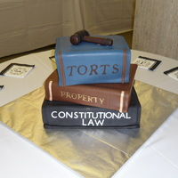 Groom's  Cake For An Attorney