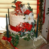 "Christmas Red Velvet My husband's Aunt asked me to help her with a ""Holiday Open House"" in her home this weekend. She requested I make a red..."