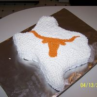 Texas Longhorns This cake was done as joke for my daughter's youth pastor who is definetly not a Longhorn fan but a Texas A&M fan. He said that if...