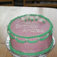 Birthday Cake This was a birthday cake for one of my husband's co-workers.