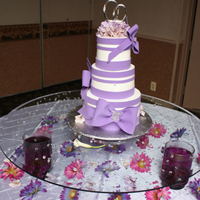 Rocios Wedding Cake!