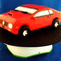 Sport Car 3D I got a lot e-mails asking how to make a car cake, so here. I made this 3d sport car for all of you that asked how to make a cake car....